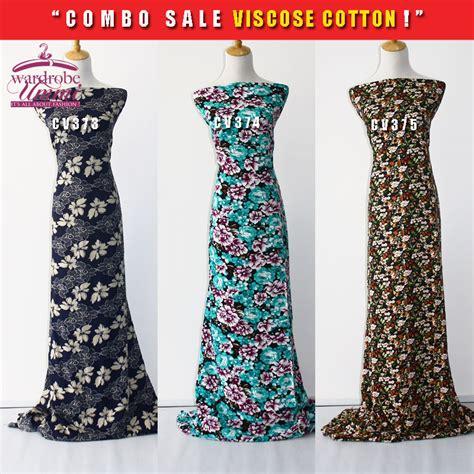 borong viscose fabric kain cotton by wardrobe ummi kain cotton tawaran d fabulous couture