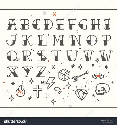 traditional tattoo font best 25 lettering alphabet ideas on