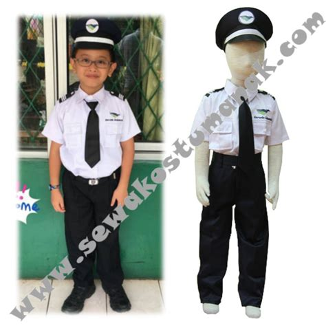 baju kostum pilot kostum anak di jakarta tangerang