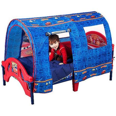 walmart car beds for toddlers disney cars toddler bed with tent walmart com