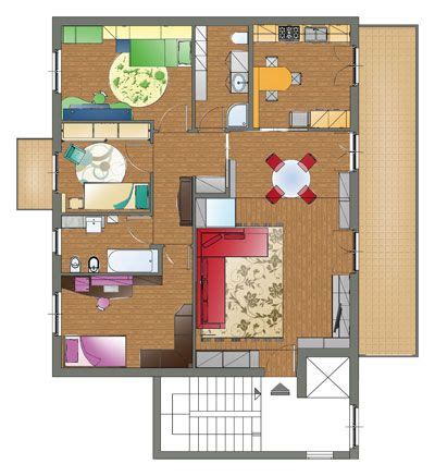 appartamento pianta 1000 images about abitazioni planimetrie e disegni on