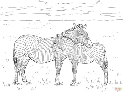 aardvark to zebra animals of africa coloring book books grant s plain zebras coloring page free printable
