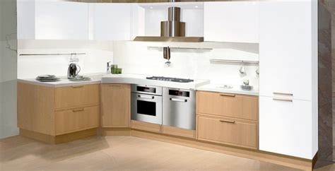 Light Oak Kitchen Cabinets Light Oak Wooden Kitchen Designs Digsdigs