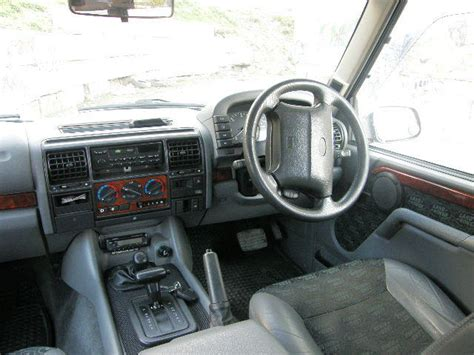 1998 land rover discovery interior 1998 land rover discovery pictures 2500cc diesel
