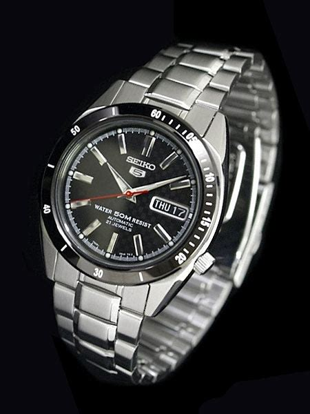 Seiko 5 Snkf51k1 Automatic Black Jam Pria Snkf51 Limited seiko 21 automatic with carbon fiber and black bezel snkf51k1
