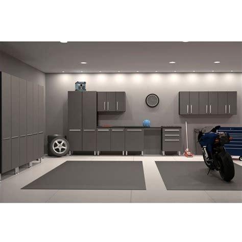 Garage Mate Ulti Mate Garage 12 Cabinet Kit In Graphite Grey And