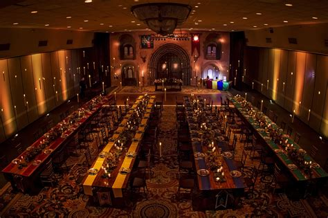 the great hall harry potter this harry potter inspired wedding will make you believe