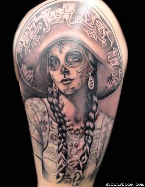 tattoo girl of the day 40 bloodcurdling day of the dead tattoos