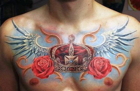 red crown tattoo 100 crown tattoos for kingly design ideas
