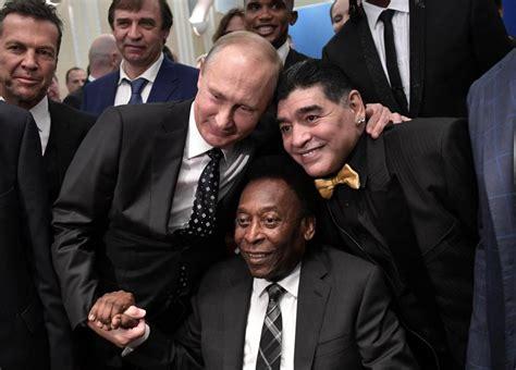 kanu nwankwo okocha russian president pose with football legends nigeria newspaper nigeria