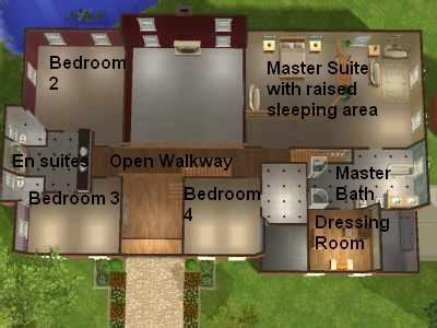 sims 2 house floor plans mod the sims the corner house a mansion for your professional sims