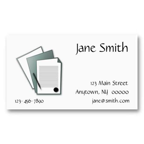 business cards docs documents business card