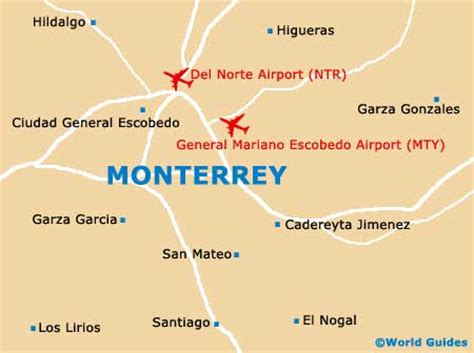 map of monterrey mexico monterrey maps and orientation monterrey nuevo mexico