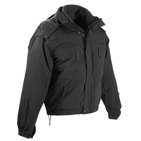 5 11 Tactical Black Blue 5 11 tactical 5 in 1 all weather duty tactical jacket
