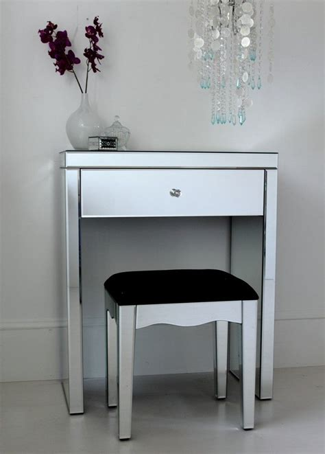 Glass Vanity Table Small Glass Dressing Table