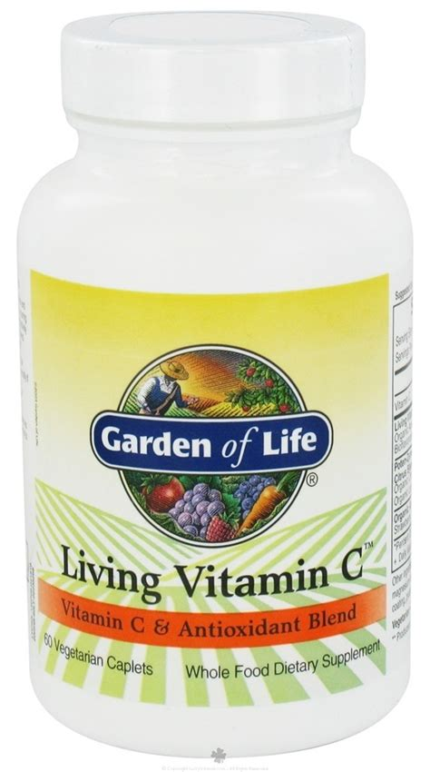Garden Of Vitamin C by Buy Garden Of Living Vitamin C 60 Caplets At