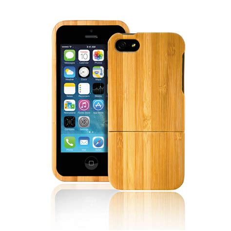 lax gadgets  part case  iphone  bamboo