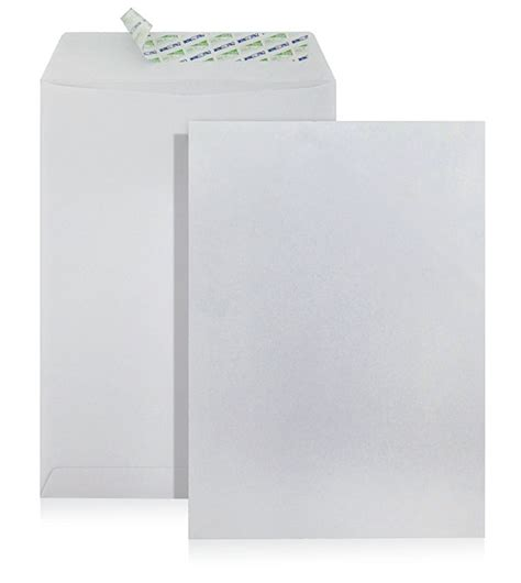 Pocket Sealer 12 Regular Molins 229x305mm white peel seal envelope no window international