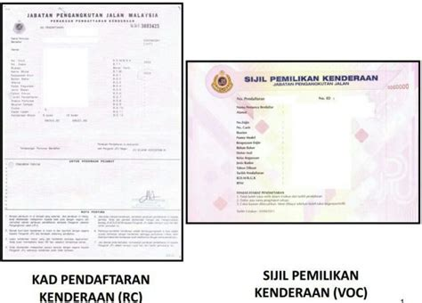 JPJ introduces Vehicle Ownership Certificate as