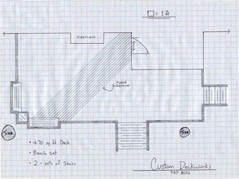 draw deck how to repair how to draw deck plans home depot deck