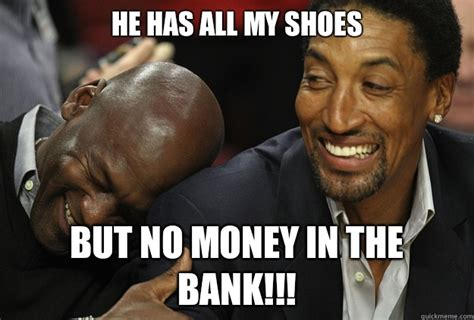 Michael Jordan Shoe Meme - site unavailable