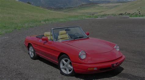 how cars run 1994 alfa romeo spider parking system alfa romeo spider duetto 1966 94 centerline international