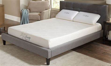 comfort iq mattress nature s sleep cool iq 8 gel infused memory foam mattress