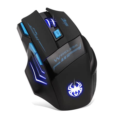 Gaming Mose Provesional Dismo Wireless 2016 adjustable for pro gamer 2400dpi optical wireless gaming mouse gamer for laptop pc computer