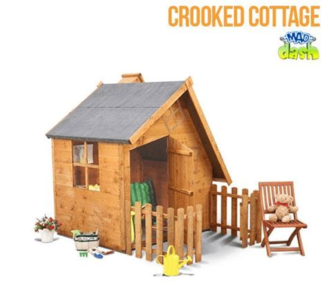 Crooked Cottage by The Mad Dash Crooked Cottage Playhouse What Shed