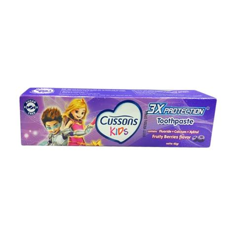 Pasta Gigi Youth Ideal jual cussons toothpaste fruity berries flavour pasta