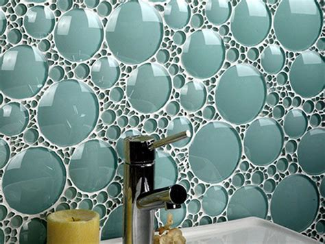 amazing bathroom glass tile backsplash collections from