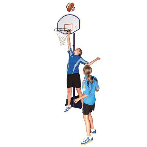 2 In 1 Basketball sure compact hoops 2 in 1 junior basketball netball