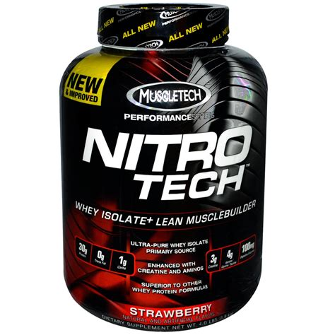 Suplemen Nitro Tech Muscletech Nitro Tech Review The Health Designs