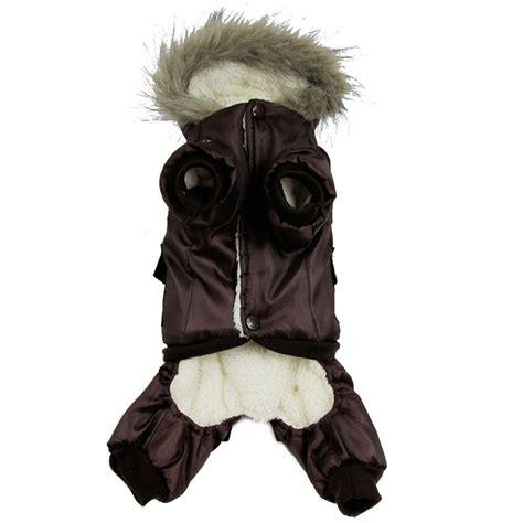 small pet cat puppy winter warm coat hoodie jacket jumpsuit clothes apparel ebay
