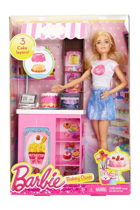 Boneka Mattel Bakery Owner Playset mattel inc bakery owner playset nordstrom rack