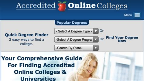 accredited online college online degree programs credits and finances 11780
