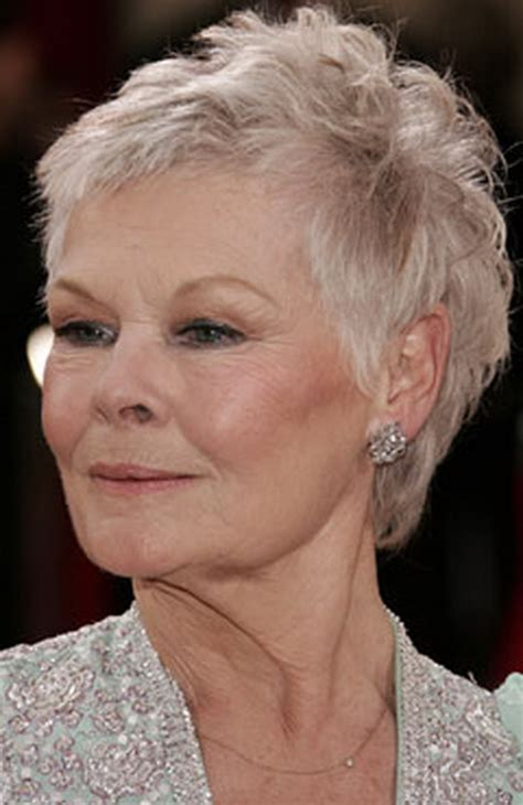 how to cut judi dench hair back of head judi dench photo short hairstyle 2013