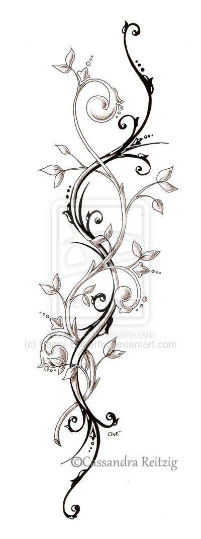 trailing tattoos designs 24 awesome vine designs