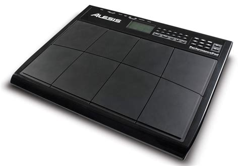 rhythm drum pad amazon com alesis performance drum pad musical instruments