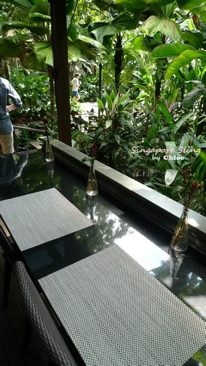 Halia Reviews Singapore Western Restaurants Halia Botanic Gardens Review