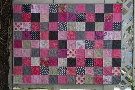 Pink Patchwork Quilts - pink gray patchwork quilt capturing the threads