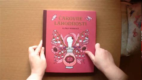 libro magical delights colouring book carovne lahodnosti magical delights by klara markova colouring book flipthrough youtube