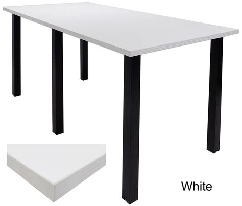 Standing Height Conference Table Standing Height Conference Tables W Black Legs 5 Laminate Choices 8 Length See Other Sizes