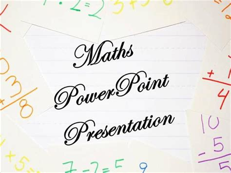 math powerpoint template casseh info