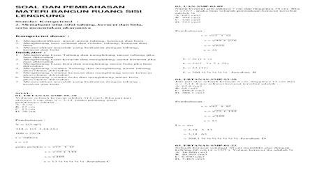contoh soal volume bangun ruang gabungan tabung