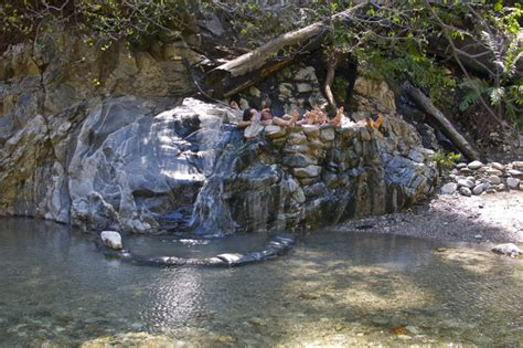 hot sur sykes hot springs big sur california afar com