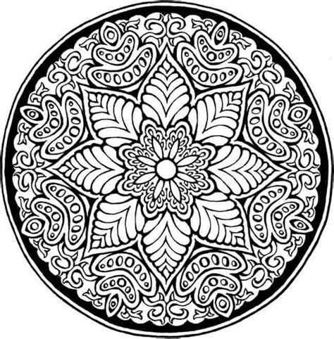 Free Coloring Pages Of Difficult Patterns Difficult Colouring Pages