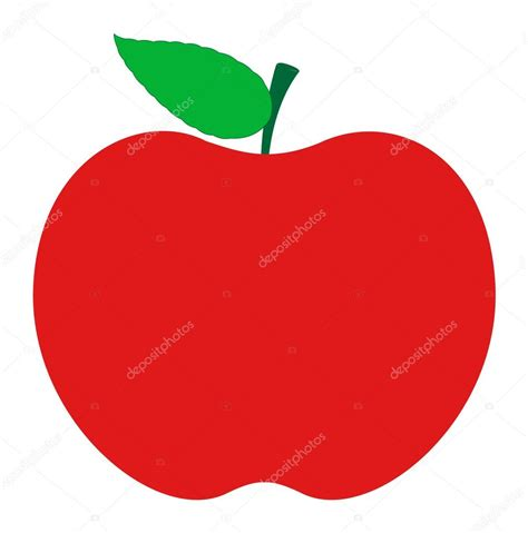 apple vector red apple shape stock vector 169 baavli 58073157