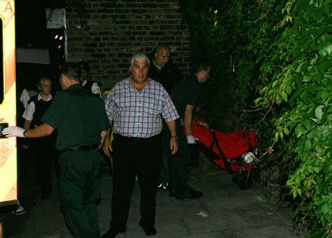 Winehouse Family At War As Troubled Takes A by Outside Winehouse S Home After