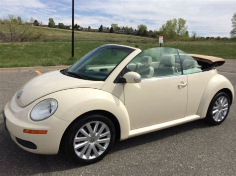 buy car manuals 2008 volkswagen new beetle on board diagnostic system find used 2008 volkswagen beetle se convertible bug 09 10 automatic a condition low miles in